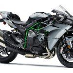 Ninja H2 Carbon คาวาซากิbigbike 2017 Lean Angle