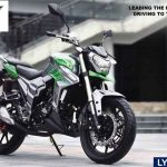 NKT Lycan 200 cc.เปิดตัวครั้งแรกในงาน MOTOR EXPO
