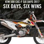รถมอเตอร์ไซค์ วิบาก2017 KTM 500 EXC-F 6 Days