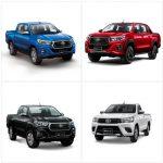ออกรถใหม่  Toyota REVO 4 ประตู 2.4 E PLUS ดาวน์60,300.- ผ่อน11,892