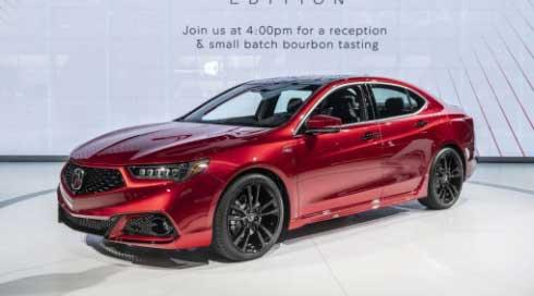 Acura TLX เครื่องยนต์วี6 3,500 ซีซี