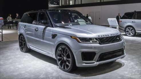 รถยนต์ใหม่ Range Rover Spor