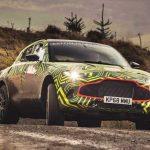 ภาพ  Aston Martin DBX ใหม่