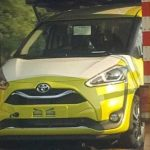 Toyota Sienta Minorchange Spyshot 2019